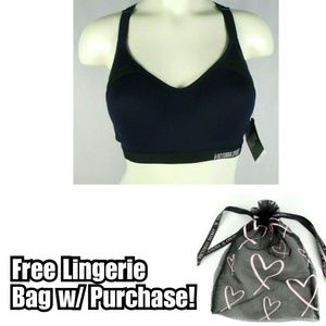 Victoria's Secret Incredible Sports Bra Navy Blue